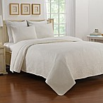 Nostalgia Home™ Saville Queen Bedspread in Marshmallow