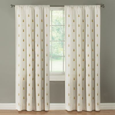 Palm Springs 84 Inch Rod Pocket Window Curtain Panel