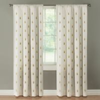Palm Springs 108-Inch Rod Pocket Window Curtain Panel