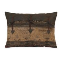 HiEnd Accents Sierra Oblong Throw Pillow with Toggles