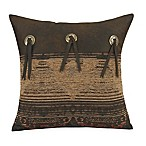 HiEnd Accents Sierra Square Throw Pillow with Conchos