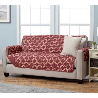 Buy Burgundy Furniture Slipcovers From Bed Bath Amp Beyond