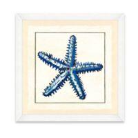 Blue Starfish Framed Giclée Print Wall Art II