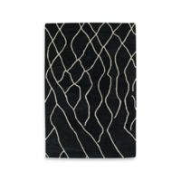 Kaleen Casablanca Knit 2-Foot x 3-Foot Accent Rug in Charcoal