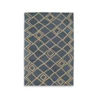 Kaleen Casablanca Diamonds 2-Foot x 3-Foot Accent Rug in Blue