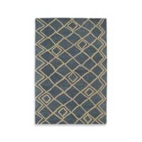 Kaleen Casablanca Diamonds 8-Foot x 11-Foot Area Rug in Blue