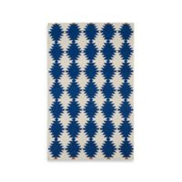 Kaleen Nomad Southwest Diamonds 3-Foot 6-Inch x 5-Foot 6-Inch Area Rug in Navy