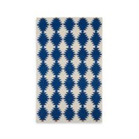 Kaleen Nomad Southwest Diamonds 5-Foot x 8-Foot Area Rug in Navy