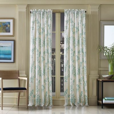 Buy Sheer Leaf Curtains from Bed Bath & Beyond