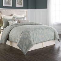 Wamsutta® Chelsea Full Comforter Set in Sea Glass/Ivory