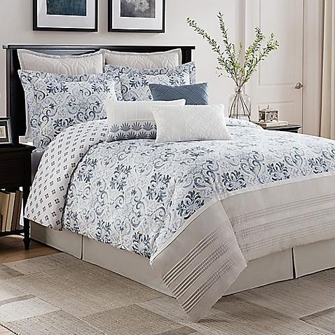 Bridge Street Porto Reversible Comforter Set Bed Bath