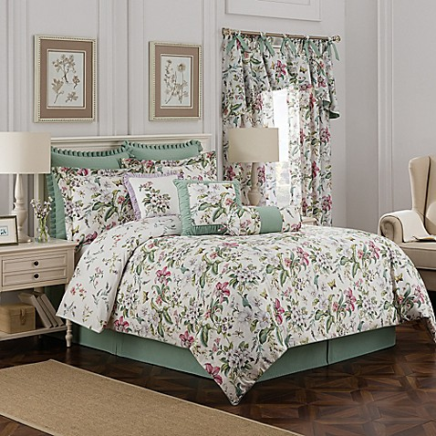 williamsburg palace reversible comforter set bed bath