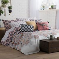 Wander Home Kelia Reversible King Duvet Cover Set in Blush