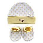 BabyVision® Luvable Friends™ 2-Piece Cap and Booties Set in Yellow