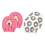 Baby Vision® Luvable Friends 2-Pack Size 0-6M Bee No Scratch Mittens