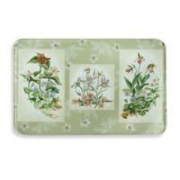 Bacova Three Bouquet 23-Inch x 36-Inch Memory Foam Kitchen Rug