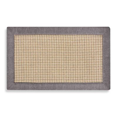 Maplewood 24 Inch X 39 Inch Kitchen Mat In Gray