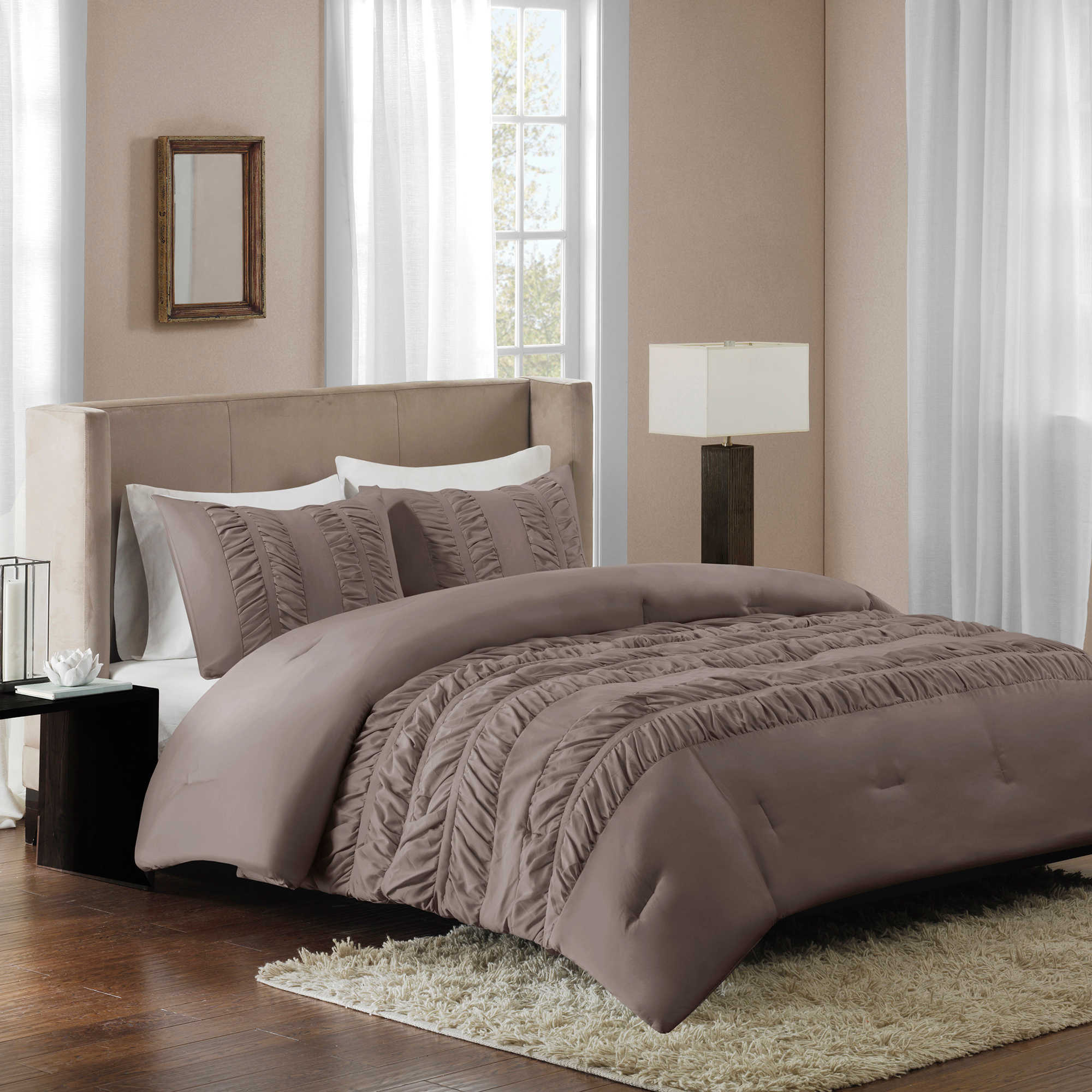 Regency Bedroom Furniture Regency Height Deanna Ruched Comforter Set Bed Bath Beyond