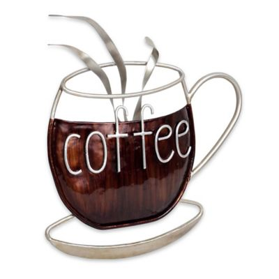 Coffee Metal Wall Art buy coffee wall art from bed bath & beyond