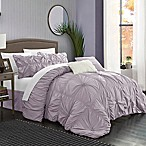 Chic Home Hilton 6-Piece King Comforter Set in Lavender