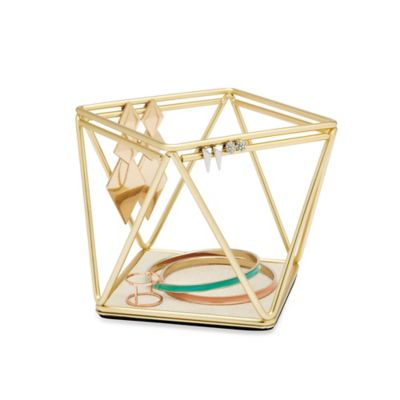 Umbra Prisma Accessory Organizer in Brass Bed Bath Beyond