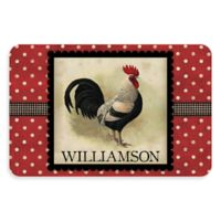 Weather Guard™ 23-Inch x 36-Inch Polka Dot Rooster Kitchen Mat