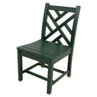 POLYWOOD® Chippendale Dining Side Chair in Green