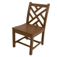 POLYWOOD® Chippendale Dining Side Chair in Teak