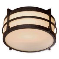 Minka Lavery® Andrita Court™ Flush-Mount Outdoor Light in Bronze