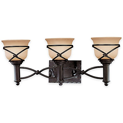 Minka Lavery Aspen II Light Bath Fixture In Aspen Bronze With - Minka lavery bathroom fixtures