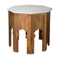 Jamie Young Large Atlas Marble Side Table