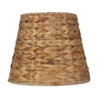 Mix & Match Small 9-inch Tropical Seagrass Unlined Drum Lamp Shade