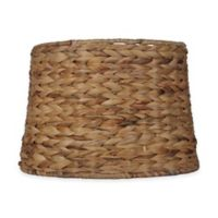 Mix & Match Large 15-Inch Hardback Drum Lamp Shade in Seagrass