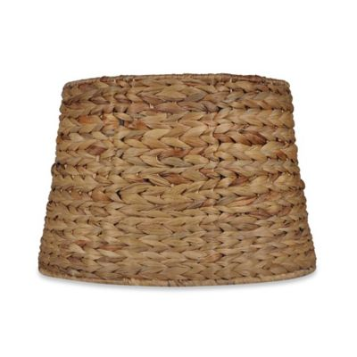 Buy seagrass lamp shade from bed bath beyond mix match medium 9 inch seagrass drum lamp shade in brown aloadofball Images