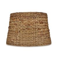 Mix & Match Medium 9-Inch Seagrass Drum Lamp Shade in Brown