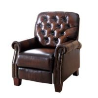 Abbyson Living® Camden Leather Pushback Recliner