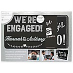 Pearhead® Engagement Announcement Chalkboard Set