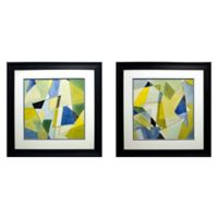 Coalescing Angles I and II Wall Art (Set of 2)