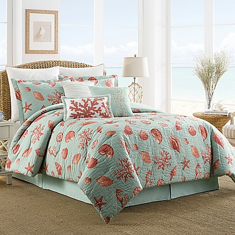 s complete small coral and teal bedroom buy coastal luxe coral reversible comforter set 242