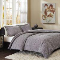 Madison Park Norfolk Twin/Twin XL Comforter Set in Grey