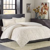 Madison Park Bismarck Ultra Plush Twin/Twin XL Comforter Set in Ivory