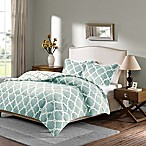 Plush Sleep Philosophy True North Reversible King Comforter Set in Aqua