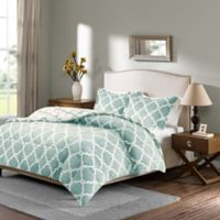 Sleep Philosophy True North Reversible Full/Queen Comforter Set in Aqua
