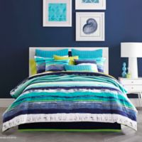 J by J. Queen New York Cordoba Full Comforter Set in Teal