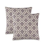 Lyssa Throw Pillow in Grey (Set of 2)