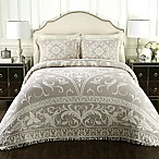 Lamont Home™ Gabriella Cotton King Jacquard Bedspread in Linen
