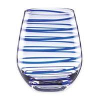 kate spade new york Charlotte Street™ Stemless Wine Glasses (Set of 2)