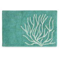 20-Inch x 30-Inch Bacova Coral Bath Rug