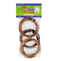 Redbarn® 3-Pack Bully Rings Dog Treat
