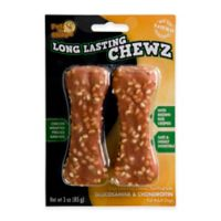 Pet 'n Shape® 2-Pack Long Lasting Chewz Chicken-Flavored Dog Treats